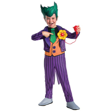 Kid's Deluxe Joker Costume - Easy Joker Costume