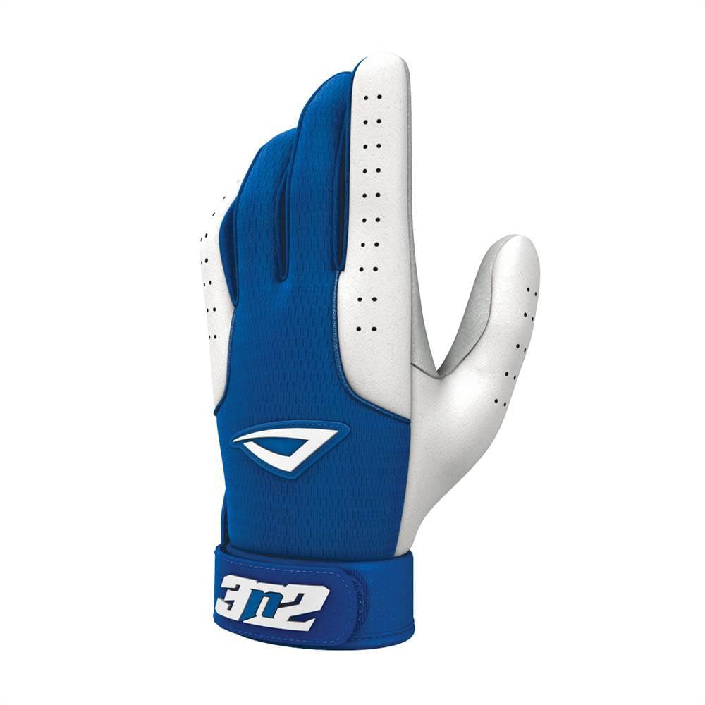 Image of Pro Baseball Gloves - Royal and White (Youth Medium)