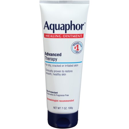 Aquaphor Healing Ointment, For Dry Cracked Skin, Use After Washing With Hand Soap, 7 Oz. Protection Plus Lotion Soap