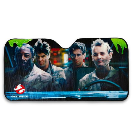 Ghostbusters Original Cast Windshield Sunshade Car Shade