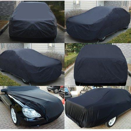 Durable Outdoor Stormproof Waterproof BreathableBlack Car Cover For Subaru - image 1 of 7