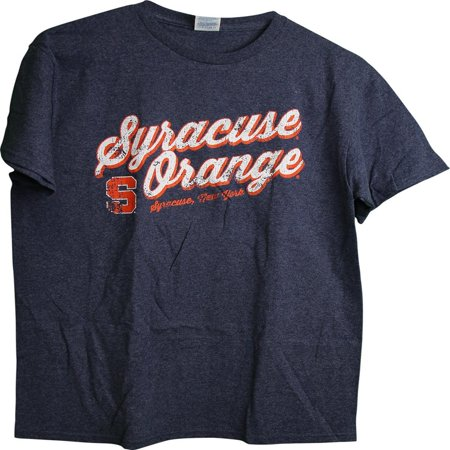 - NCAA Syracuse Orange Distressed Logo Adult Men's T-Shirt (XX-Large)
