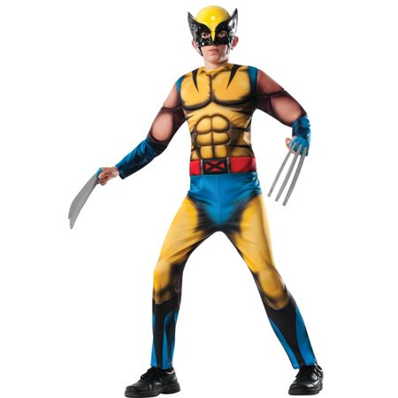 Morris Costume RU880782LG Wolverine Child Costume, Large](Wolverine Child Costume)