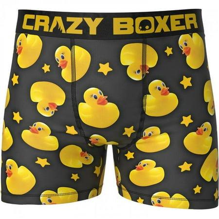 Pop Culture 798503-medium-32-34-Medium -32-34 Pop Culture Rubber Ducky Boxer Briefs - Medium 32-34 - image 1 of 1