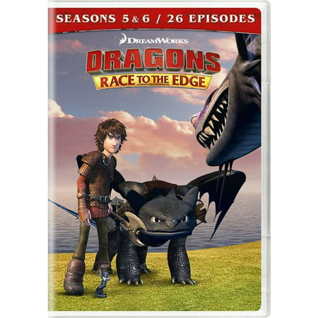 Dragons: Race To The Edge - Seasons 5 And 6 (DVD) - Halloween Wars Season 5 Teams