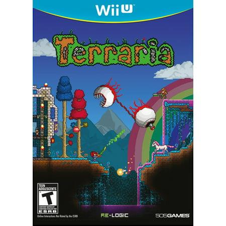 Terraria, 505 Games, Wii U, Pre-Owned](Best Terraria Accessories)