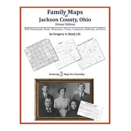 Family Maps of Jackson County, (Ogio Atlas)