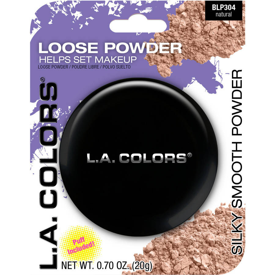 L.A. Colors Loose Powder, BLP304 Natural, 0.7 oz