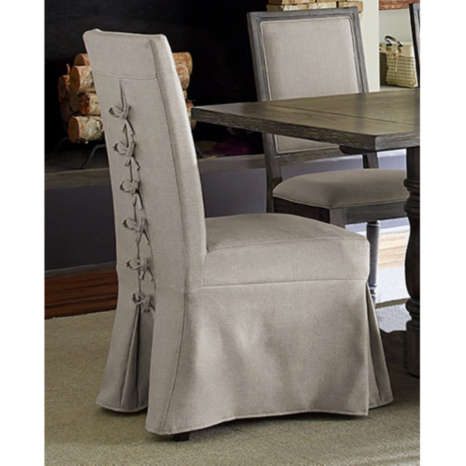 Progressive Furniture Muses Upholstered Parsons Dining Chair - Set of 2
