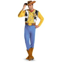 Men's Plus Woody Toy Story Costume
