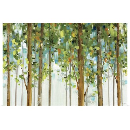 Great BIG Canvas   Rolled Lisa Audit Poster Print entitled Forest Study I