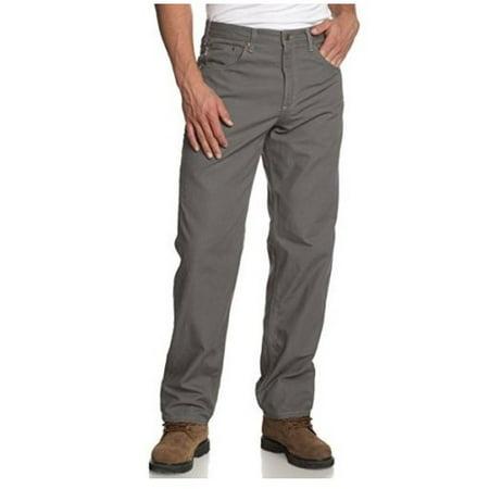 07de21b859 Carhartt - Carhartt B159-CHR Men's Loose Fit Canvas Carpenter Five Pocket,  Charcoal, 38x32 - Walmart.com