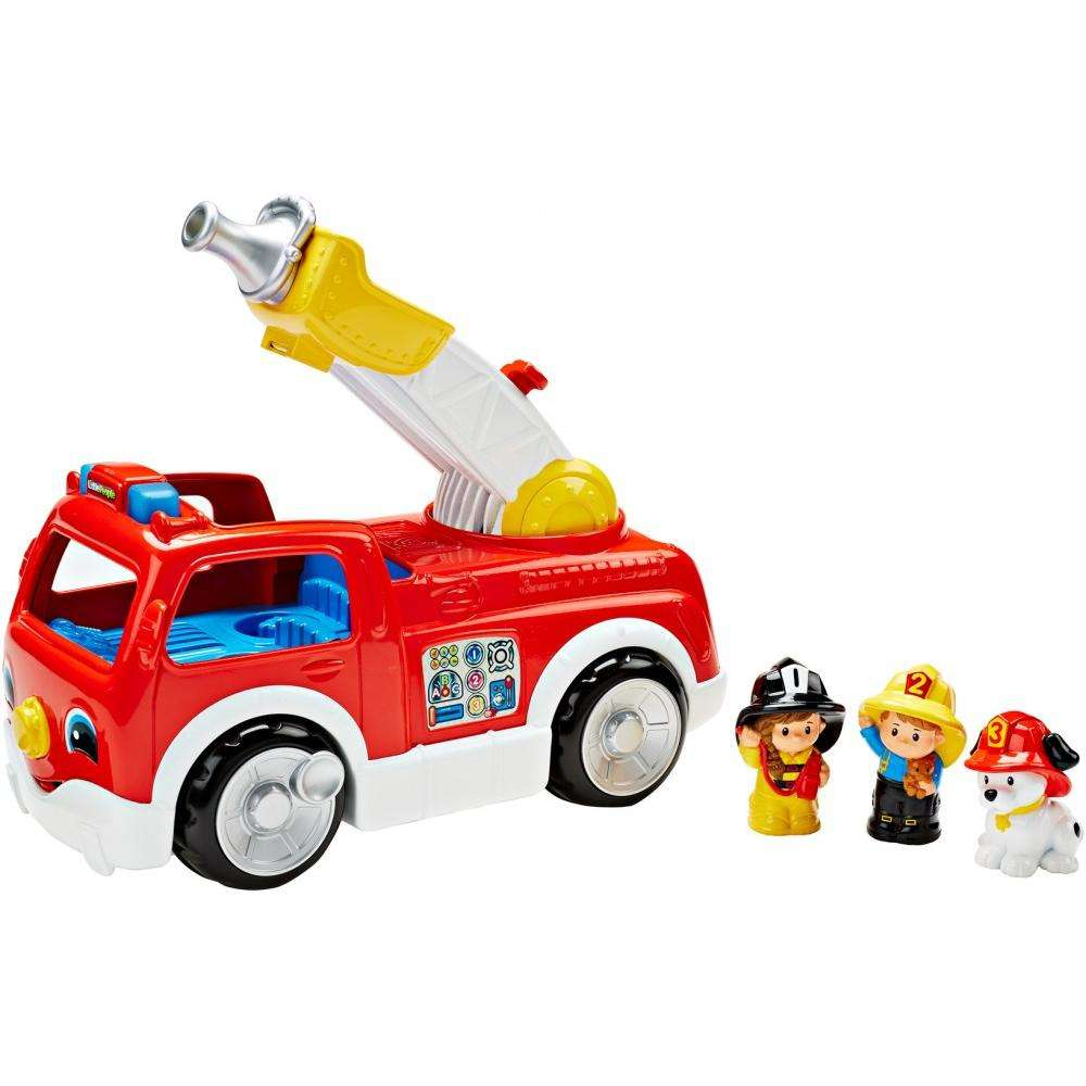 Little People Lift 'n Lower Fire Truck by Fisher-Price