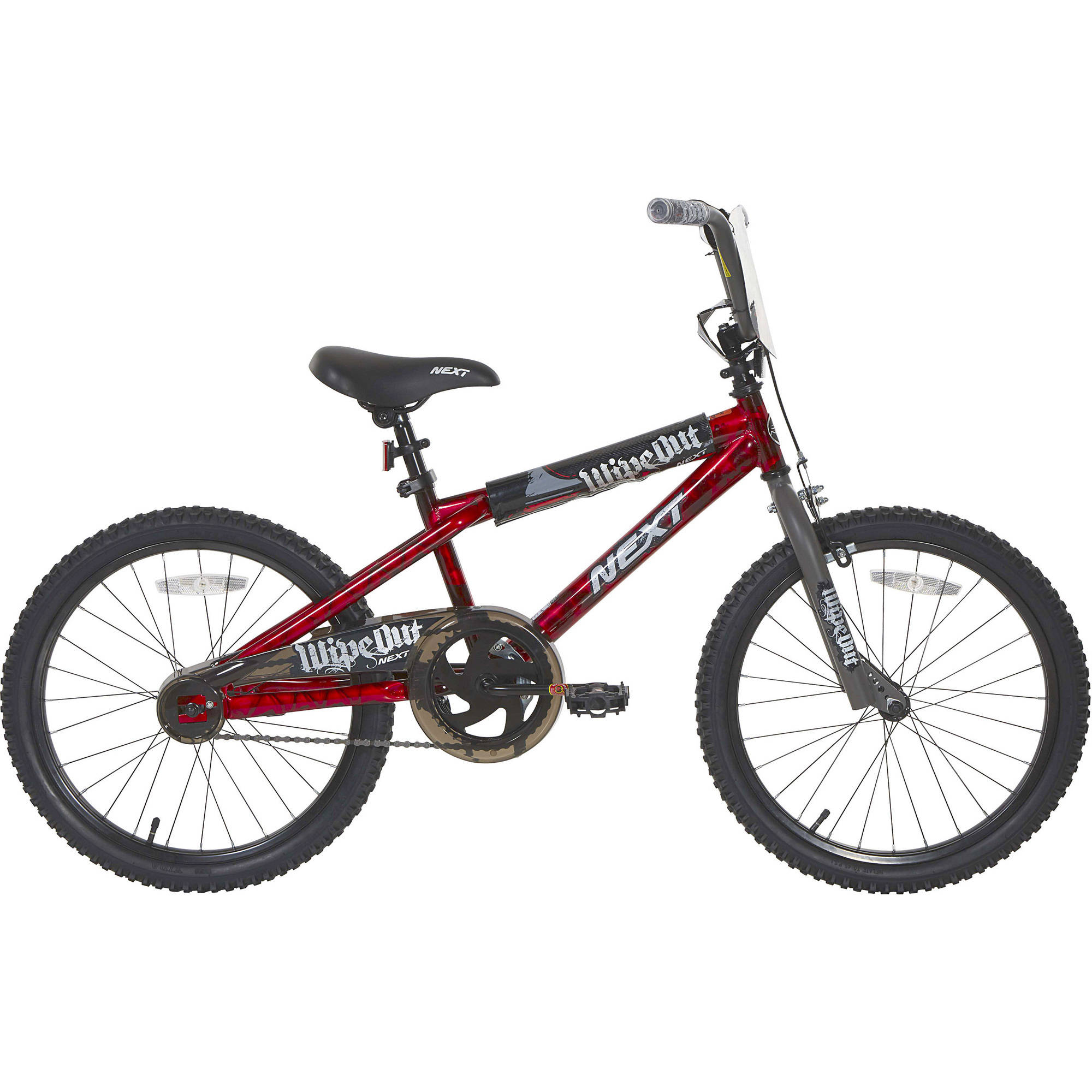 "20"" Next Boys' Wipe Out BMX Bike, Red - Walmart.com"