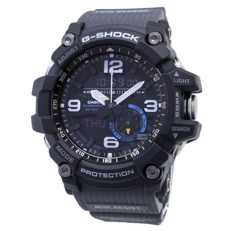 Casio G-Shock GG-1000-1A8 GG1000-1A8 Mudmaster Twin Sensor 200M Analog Digital Mens Watch ()