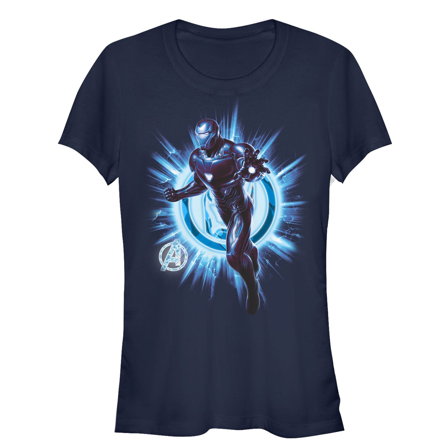 Marvel Juniors' Avengers: Endgame Iron Man Star Logo T-Shirt