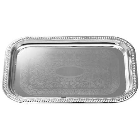 Tablecraft Serving Tray - TABLECRAFT PRODUCTS COMPANY CT1812 Tray,Rectangular,18 1/4x12 1/2