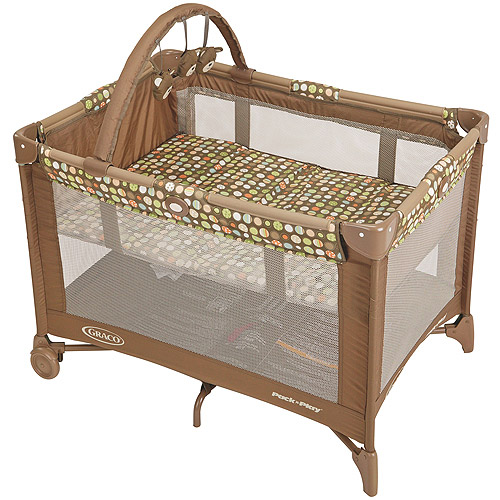 Graco - Pack n' Play Portable Playard, Lively Dots
