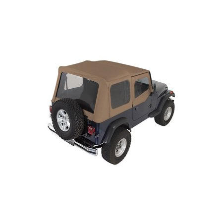 Rugged Ridge 13722.37 Soft Top For Jeep Wrangler (Soft Top For 2000 Jeep Wrangler Sport)