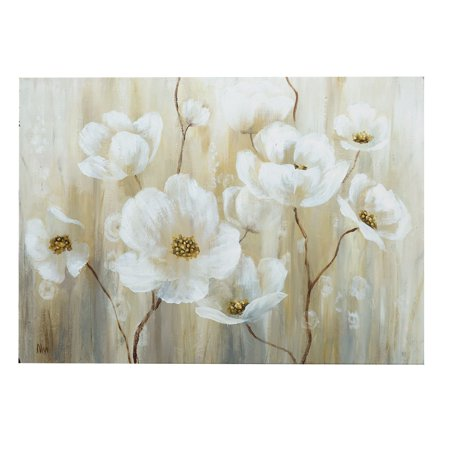 - Wexford Home Shimmering Blossoms Canvas Wall Art