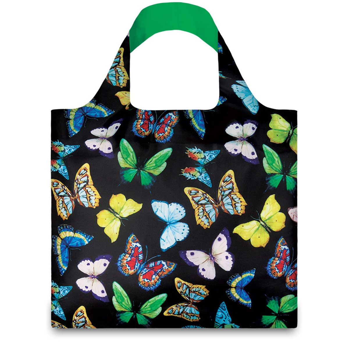 LOQI Wild Butterflies Reusable Shopping Bag