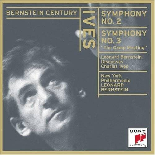"This disc concludes with a recording of Leonard Bernstein discussing Charles Ives. The discussion was recorded on June 2, 1966 in New York City.<BR>REVIEWS:<BR>New York Times (7/30/00, p.30) - ""...Bernstein revels in this music's eclecticism and brilliant cacophony in classic performances..."""