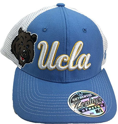 UCLA Bruins Game Time 3-D logo Flex Fit Adult Cap Hat M/L