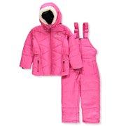 Weatherproof Girls' 2-Piece Snowsuit - fuchsia, 3t