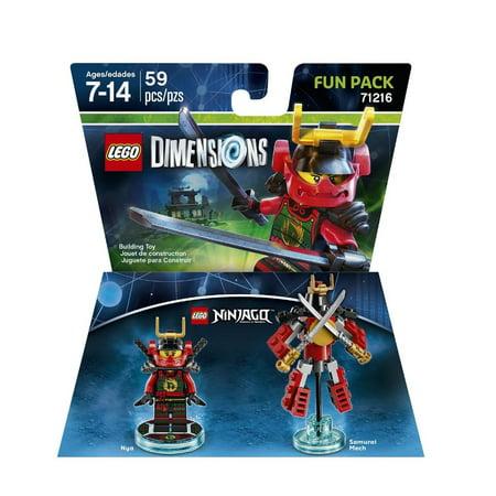 LEGO Dimensions Nya (LEGO Ninjago) Fun Pack (Universal)