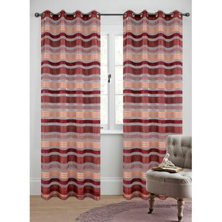 Urbanest Becca Curtain Panels (Set of 2) (Becca Sheer)
