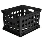 Sterilite, File Crate, Black