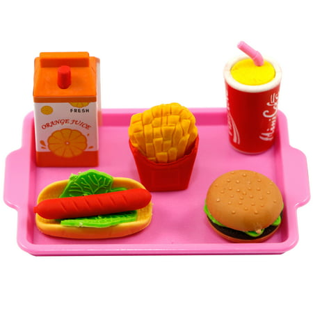 My Brittany's Pink Lunch Tray for American Girl Dolls and My Life as Dolls- Compliments American Girl Doll Clothes (Brittany Doll)