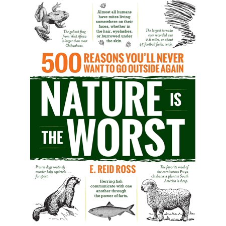 Nature is the Worst : 500 reasons you'll never want to go outside again
