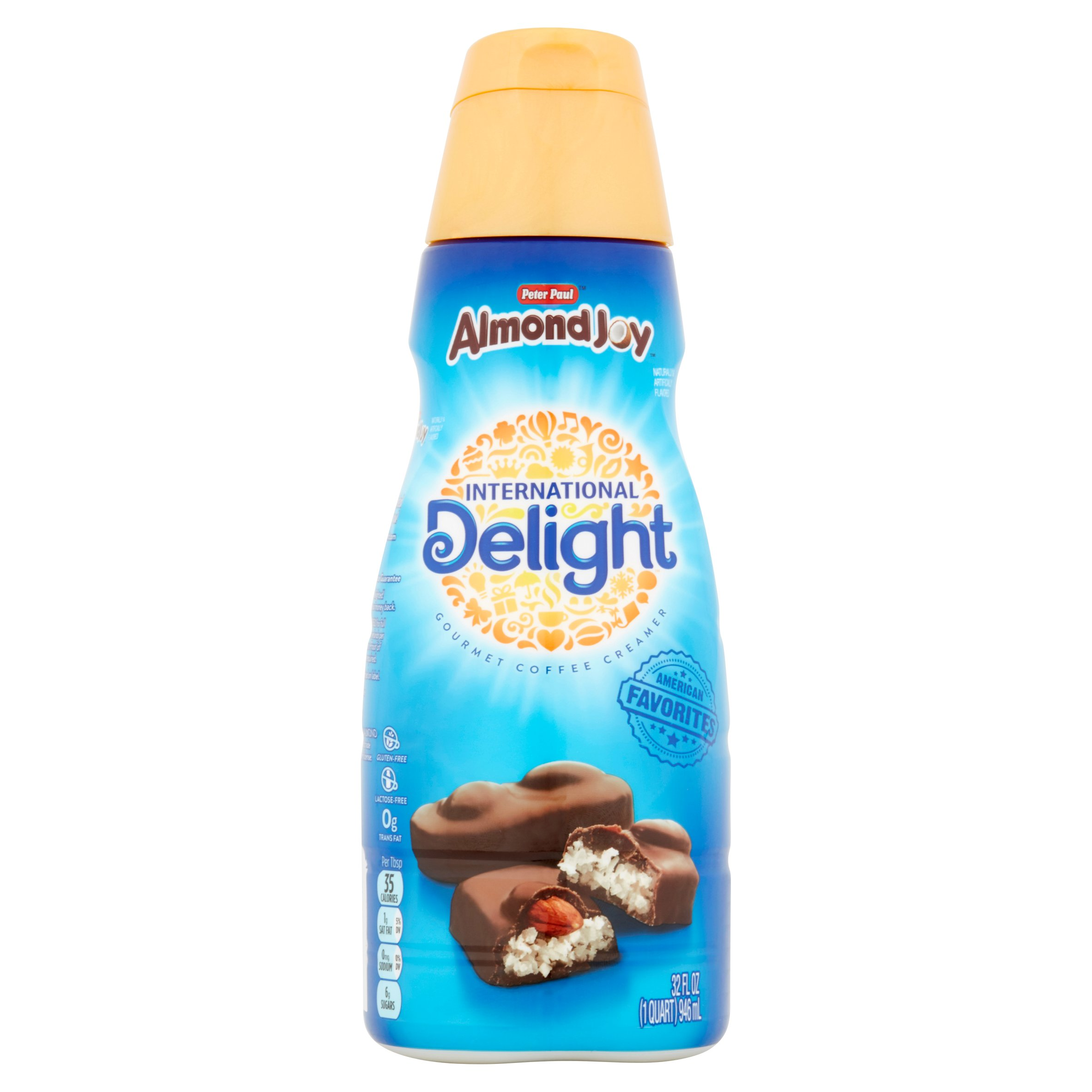 International Delight, Almond Joy Coffee Creamer, 32 Oz. - Walmart.com