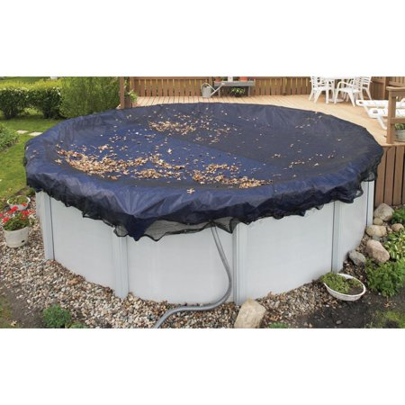 Blue Wave Dirt Defender 12' Round Leaf Net Above Ground Pool Cover