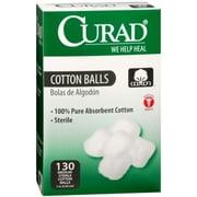 Curad Cotton Balls 130 Each