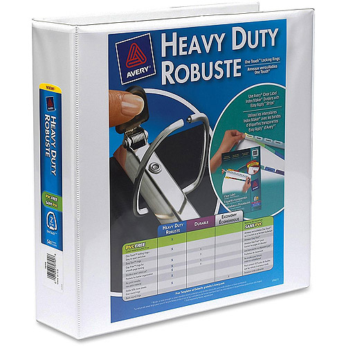 Avery Heavy-Duty Reference EZD View Binders