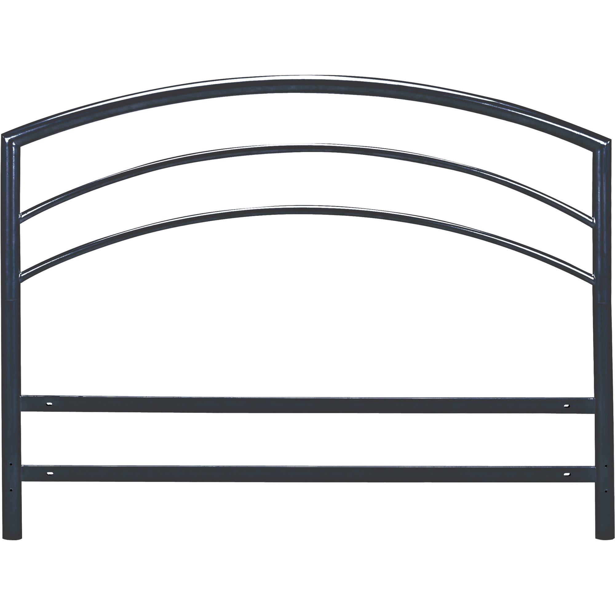 Premier Ellipse Metal Headboard, Black, Multiple Sizes