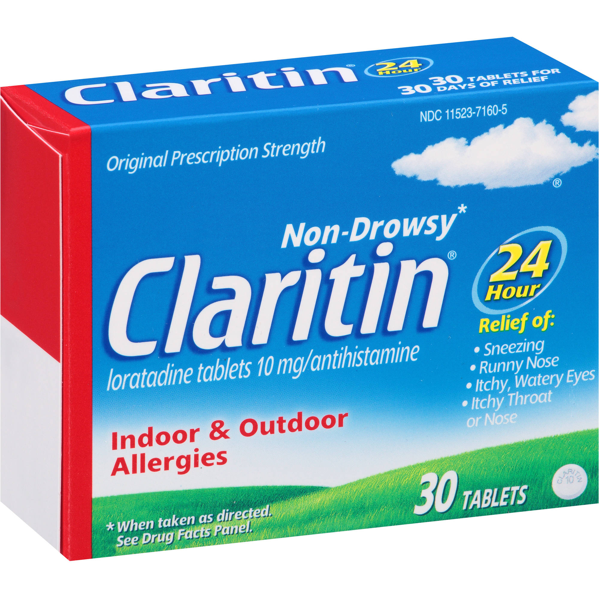 claritin 24 in more hours than taking one