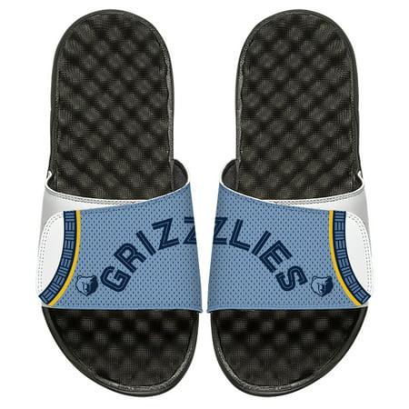 finest selection 99c95 17860 Memphis Grizzlies ISlide Youth Statement Jersey Split Slide Sandals - White