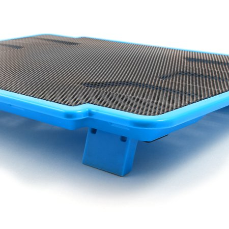 Tablet LED Light Radiator Cooling Pad Blue w Cooling Fans for 14 Inch Laptop - image 3 of 5