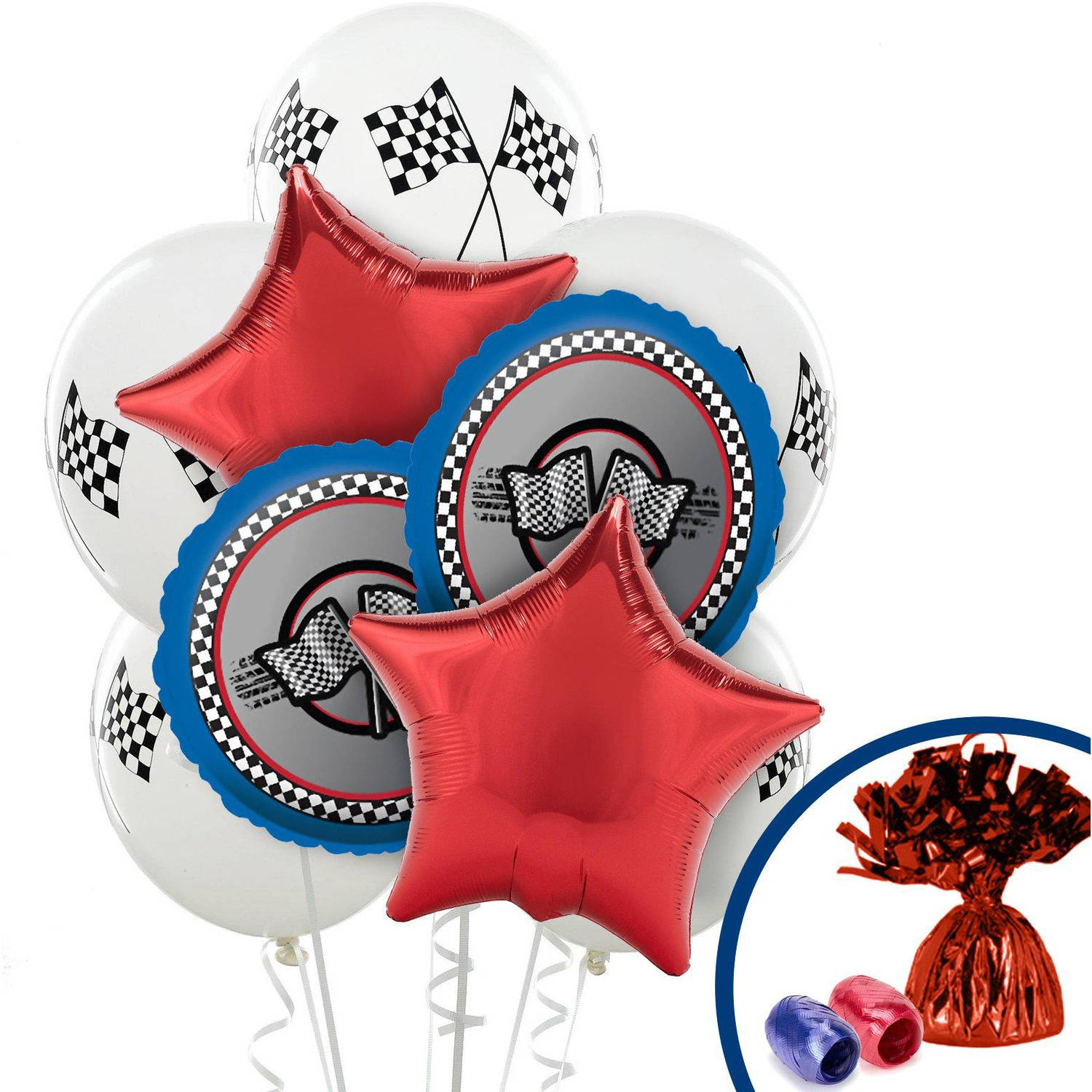 Racing Balloon Bouquet
