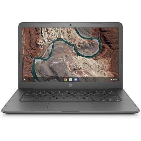 """HP 14-DB0020NR Chromebook 14"""" HD AMD A4-9120C 1.6GHz 4GB RAM 32GB eMMC Chrome OS Chalkboard Grey, Refurbished - image 2 of 2"""