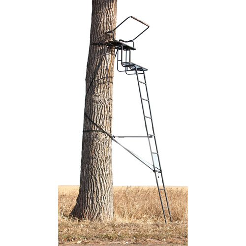 Big Game Treestands Raven 2-Person 15' Ladder Stand