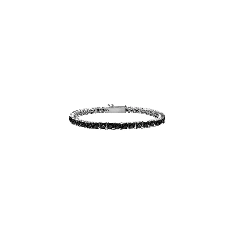 Jewelry Black Diamond Tennis Bracelet with 2 CT Black Diamonds - image 1 of 1