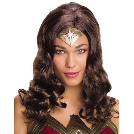 Halloween Wigs Dc (Wonder Woman Wig Adult Halloween)