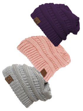 31056a75def Product Image Women s 3-Pack Knit Beanie Cap Hat