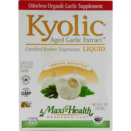 - Max Health Maxi Kyolic Liquid, 4 Oz