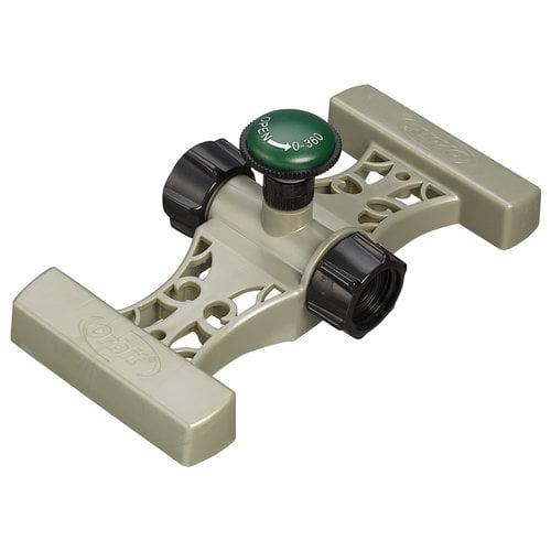 Orbit Adjustable Spray Nozzle Lawn Watering Sprinkler for Hose sprinkling, 56000