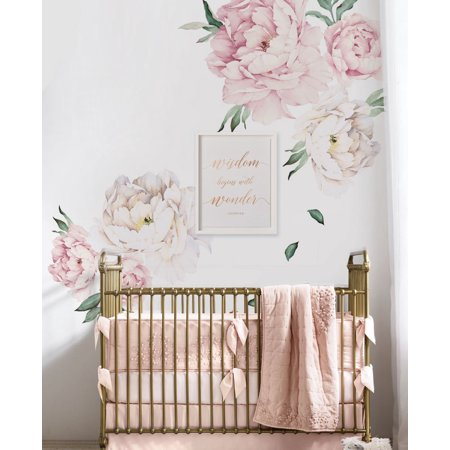 Peony flowers wall sticker vintage pink walmart peony flowers wall sticker vintage pink mightylinksfo
